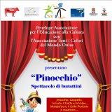 Il 23 dicembre in terra vecchia arriva lo spettacolo di Pinocchio