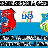 Calcio 2a cat l'USD ospita il Cerignola domenica al comunale