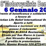 I bikers il 6 Gennaio in moto per la beneficenza