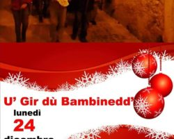 Natale 2018 – Vico del Gargano – U' gir dù Bambinedd'