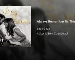 Lady Gaga – Always Remember Us This Way