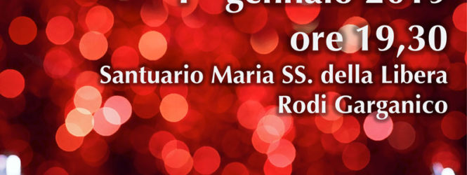"""01/01/2018 Rodi Garganico  """"Incanto"""" serata di canti e poesie"""