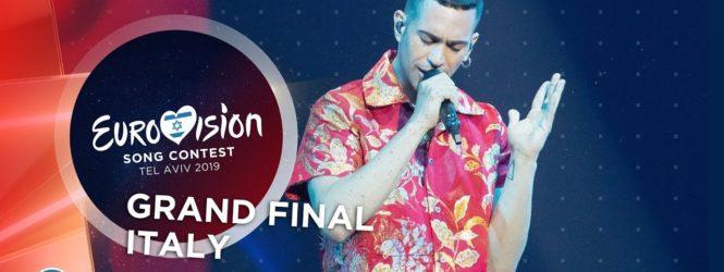 Eurovision Song, Italia seconda con Mahmood