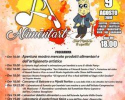 Alimentart- Venerdi' 9 agosto a Vico del Gargano