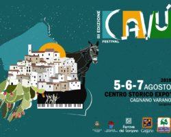 CAVU' FESTIVAL 2019 – 5/6/7 AGOSTO CAGNANO VARANO