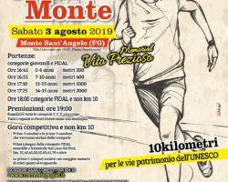 A Monte Sant'Angelo il 03 Agosto , la CorriMonte
