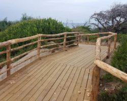 ISOLA VARANO : In realizzazione sentiero per disabili