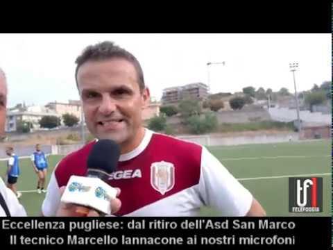 CALCIO : VIDEO: Dal ritiro del San Marco. Intervista a mister Marcello Iannacone
