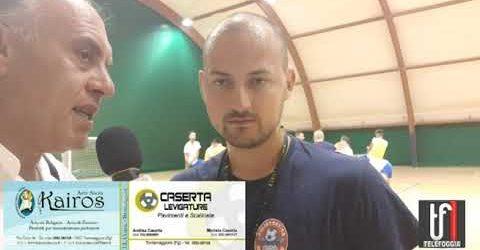 CALCIO: VIDEO: Torremaggiore calcio a 5 di Serie B. Le immagini della preparazione e l'intervista al mister