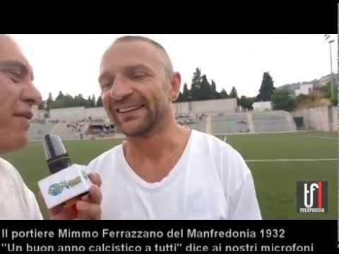 CALCIO:VIDEO. Ai nostri microfoni Mimmo Ferrazzano portiere del Manfredonia. Che stagione!