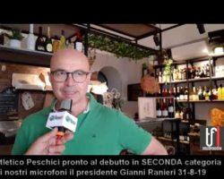 CALCIO:VIDEO. Peschici intervista al presidente Gianni Ranieri che chiama a raccolta gli imprenditori locali