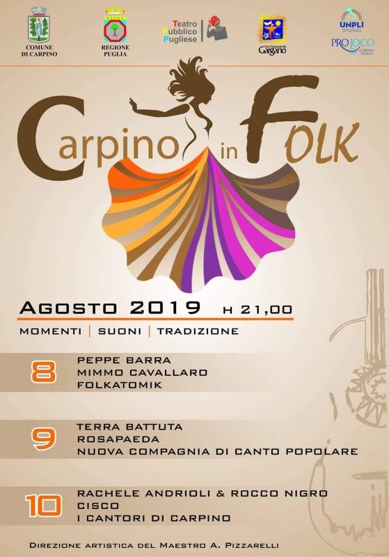 CARPINO IN FOLK – LA LOCANDINA