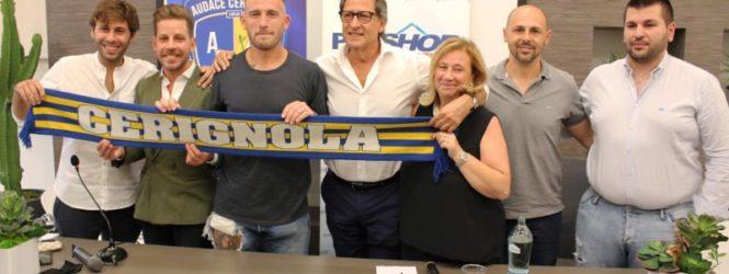 """Tommaso Coletti dalla Juventus al Cerignola. """"Qui per vincere"""". Ed è tripudio!"""