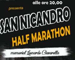 """Oggi la presentazione della """"San Nicandro Half Marathon"""""""