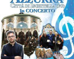 """ISCHITELLA – 14 AGOSTO  – Complesso bandistico """"Azzurra"""" in concerto"""