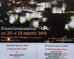 SANNICANDRO GARGANICO 20-23 AGOSTO NOTE SOTTO LE STELLE