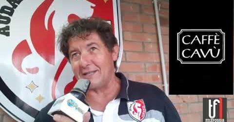 VIDEO: Giuseppe Russo DG dell'Audace Cagnano parla degli obiettivi dei biancorossi in Prima categoria