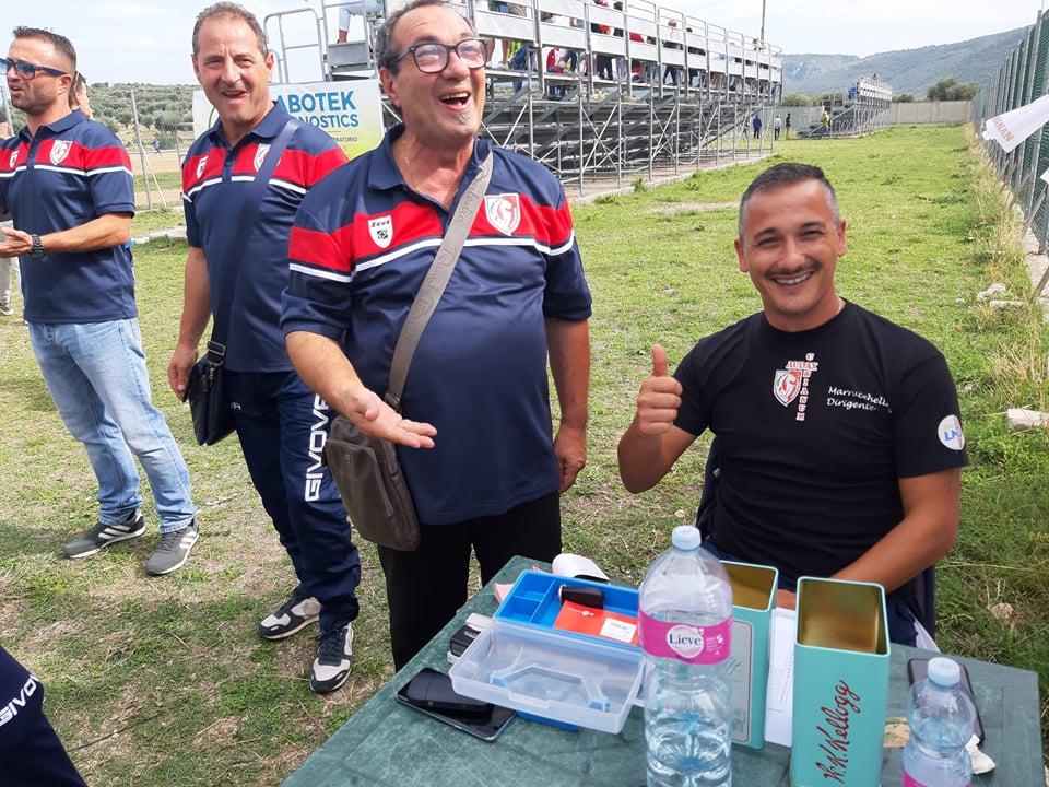 """CALCIO:Cagnano: incassi record. Michele Marrucchelli. """"Qui la gente ci aiuta sempre"""""""