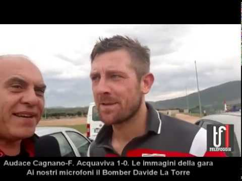 CALCIO:  Cagnano,  Davide La Torre non si smentisce e trascina a suon di gol il suo Cagnano