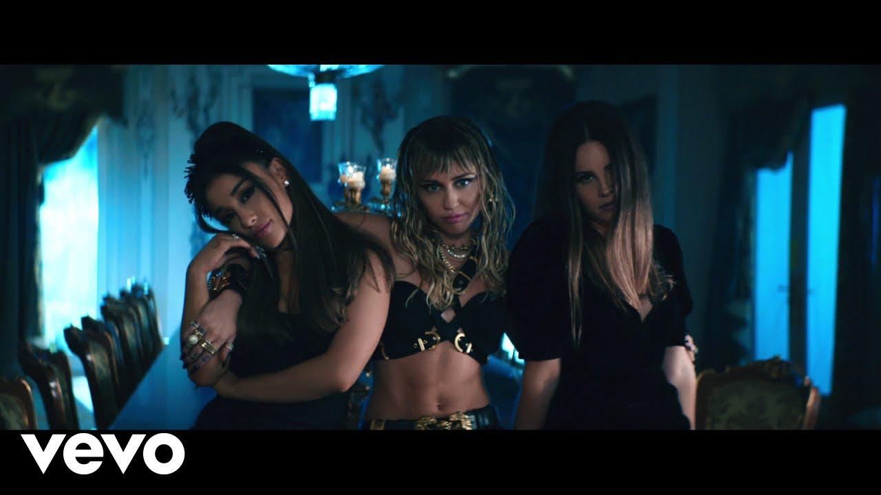 Guarda il video di  Ariana Grande, Miley Cyrus, Lana Del Rey – Don't Call Me Angel
