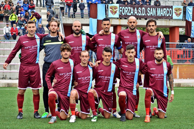 CALCIO: San Marco-Corato 1-0. Formazioni e cronaca. Prima storica vittoria in Eccellenza e contro la corazzata Trani