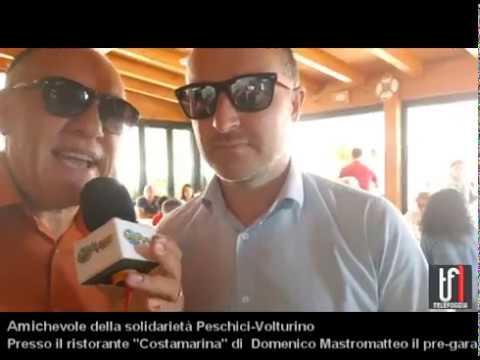 VIDEO: Partita di solidarietà tra Peschici e Volturino. Le immagini e l'intervista a Domenico Mastromatteo