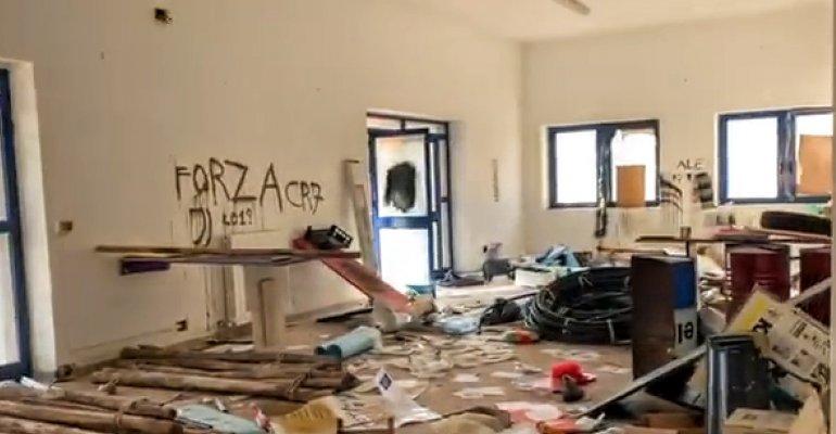 SANNICANDRO GARGANICO: Vandali devastano la sede degli Scout Istituita anche una raccolta fondi.
