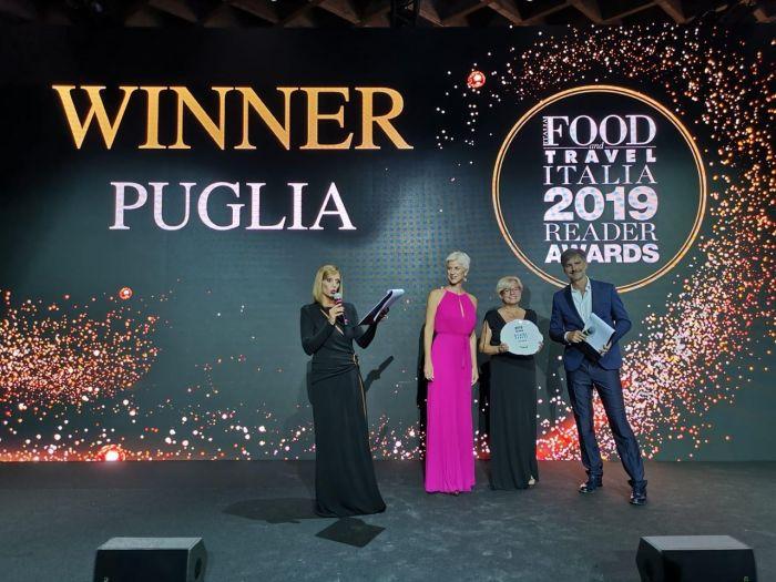 """La Puglia è stata premiata come """"Regione dell'anno"""""""