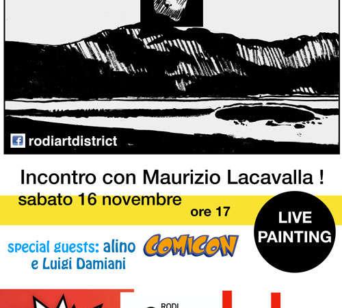 Gargano Comics, 16 Novembre incontro con Maurizio Lacavalla, giovane fumettista pugliese
