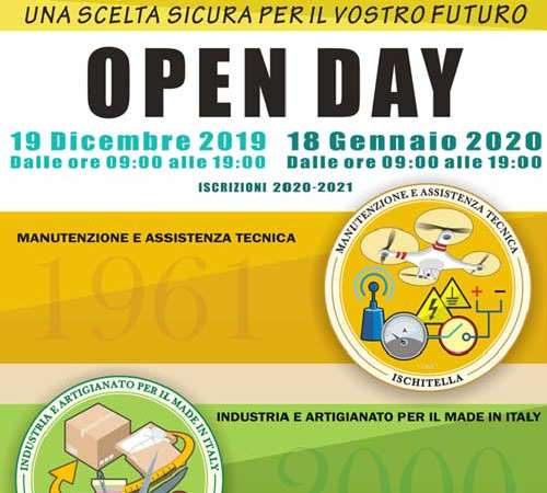 Ischitella : Open day I.I.S.S. Mauro del Giudice