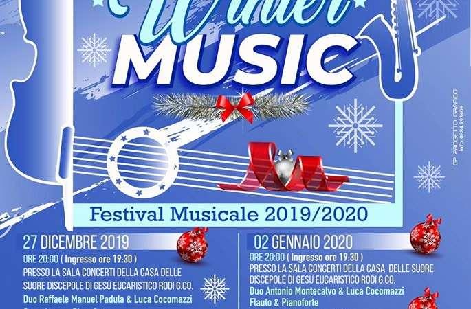 Rodi Winter Music, dal 27 dicembre 2019 al 03 gennaio 2020