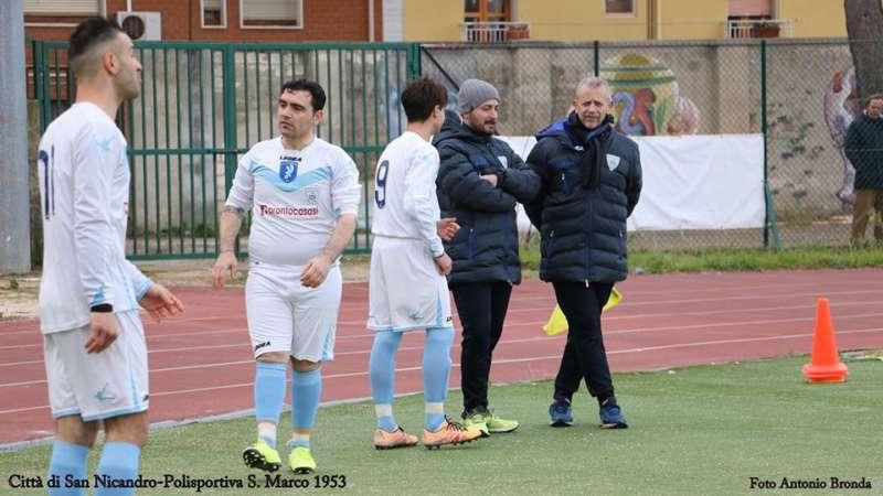 CITTA' di SAN NICANDRO-LESINA 5-1. Marinacci, De Pilla (2), Nardella e Giagnorio i goleador