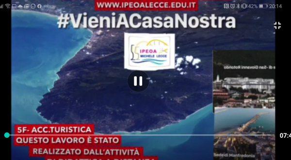 """I.P.E.O.A. """"Michele Lecce"""" Istituto Alberghiero con sede a Manfredonia e San Giovanni Rotondo… """" Vieni a casa nostra."""""""