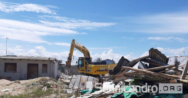 Schiapparo, demolizioni in corso di tre immobili Si tratta di violazioni amministrative reiterate in termini di abusivismo